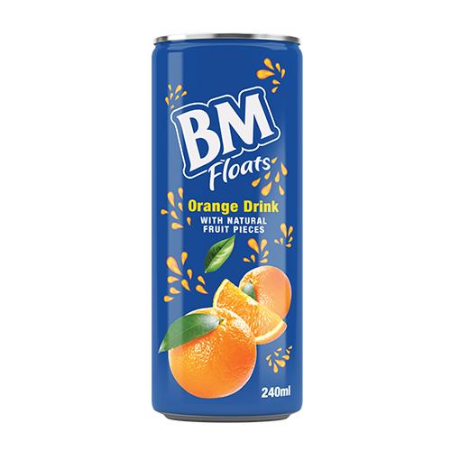 BM Orange Floats Juice