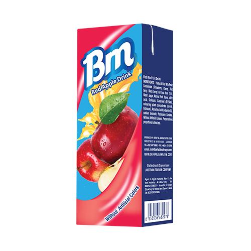BM Red Apple Juice (Carton)