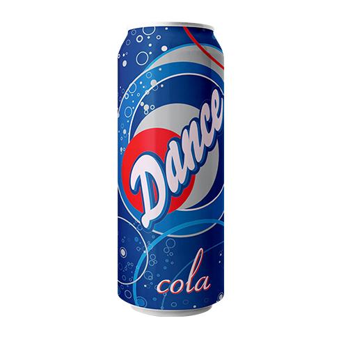 Dance Cola Carbonated Drink