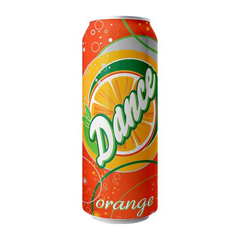 Dance Orange Carbonated Drink