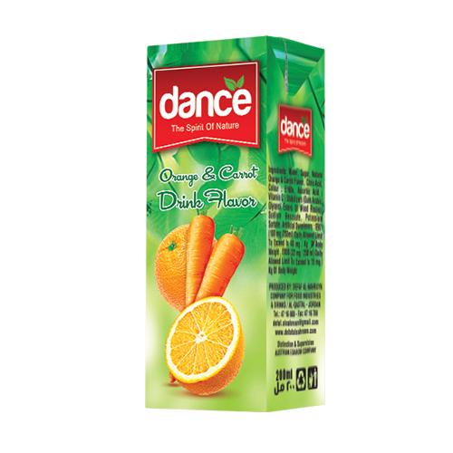 Dance Orange & Carrot Juice (Carton)