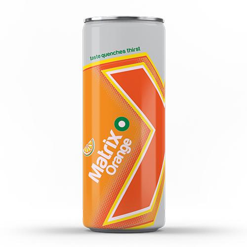 Matrix Orange Carbonated Drink