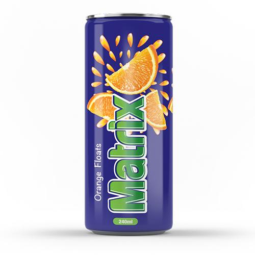 Matrix Orange Floats Juice